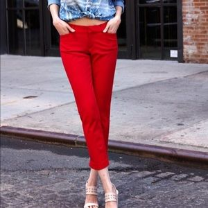 Brand New Red Old Navy Pixie Pants